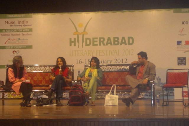 Hyderabad Literary Festival 2012 session