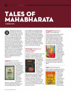 Books on Mahabharata