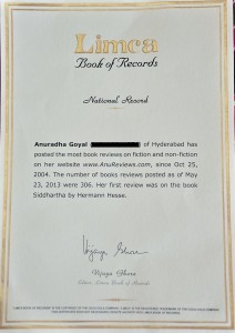 Anureviews National record