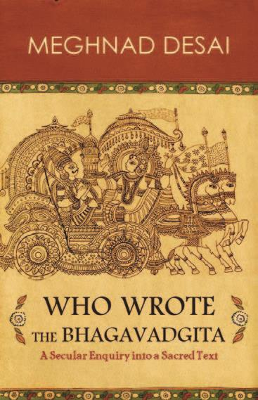 Who wrote the Bhagavadgita? By Meghnad Desai