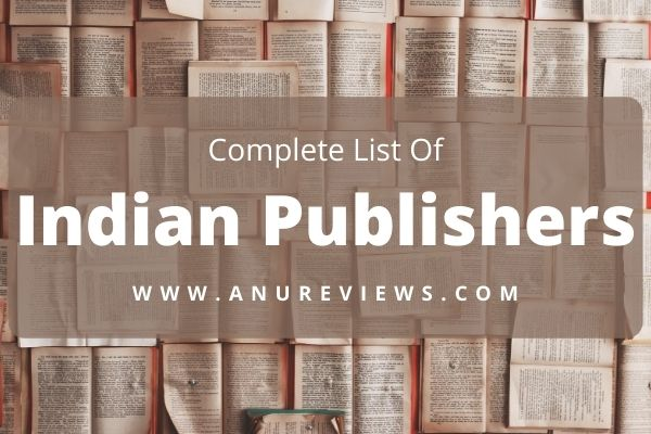 List of Indian Publishers