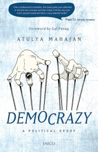 Book Review Democrazy – A political Spoof by Atulya Mahajan