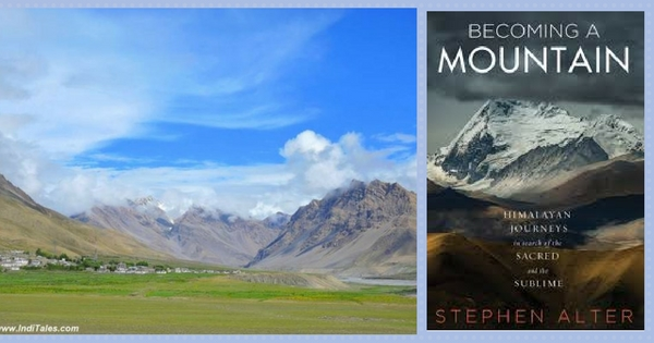 Becoming A Mountain by Stephen Alter