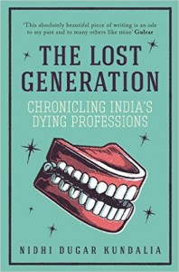 Review: The Lost Generation by Nidhi Dugar Kundalia
